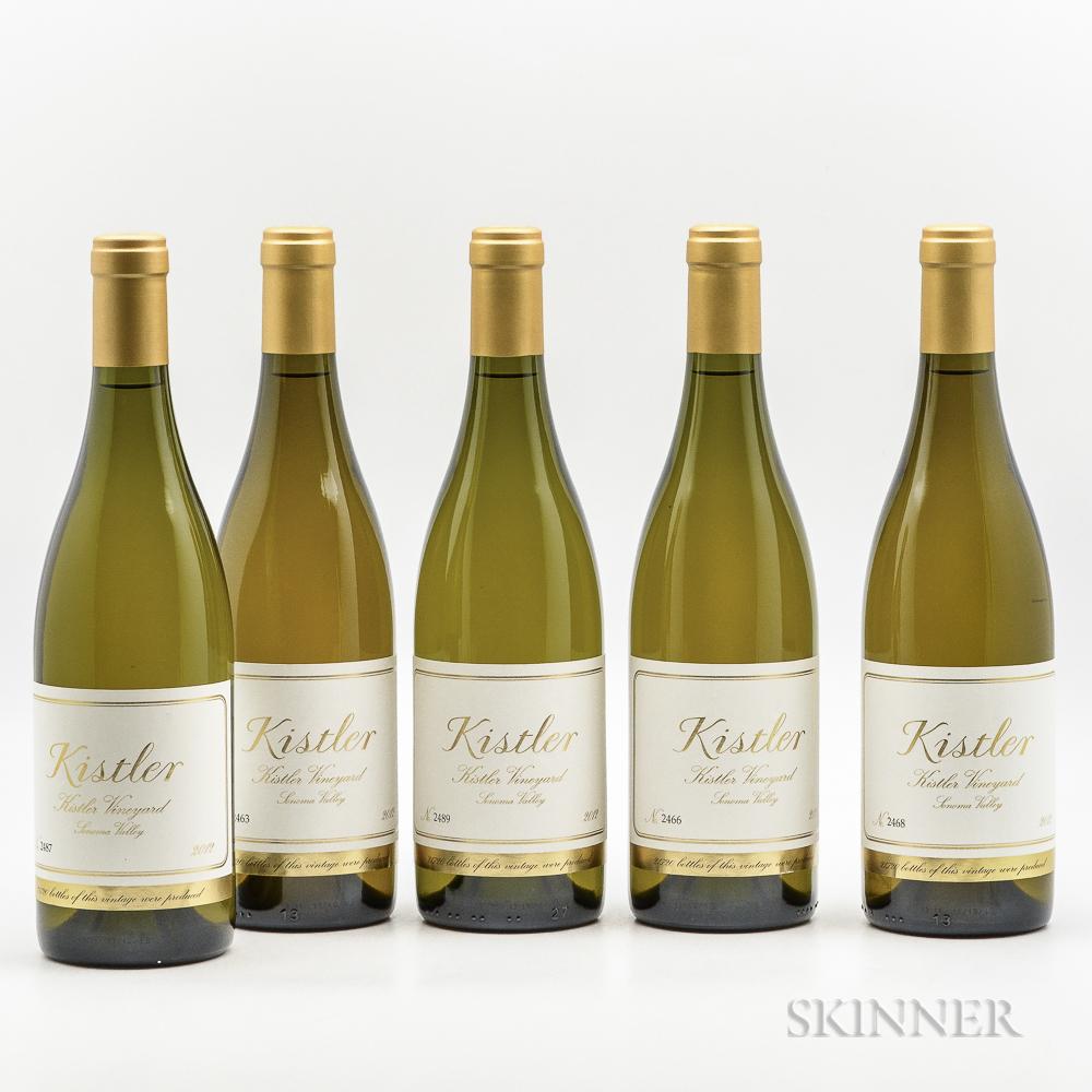 Kistler Kistler Vineyard Chardonnay 2012, 5 bottles