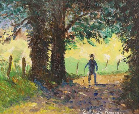 Paul Emile Pissarro (French, 1884-1972)    Ombre et Soleil