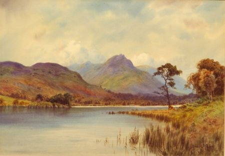 Donald A. Paton (British, 1879-1949)    The Far Side of the Loch