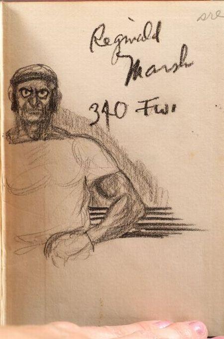 (Marsh, Reginald, Artist) & Keller, Albert Galloway