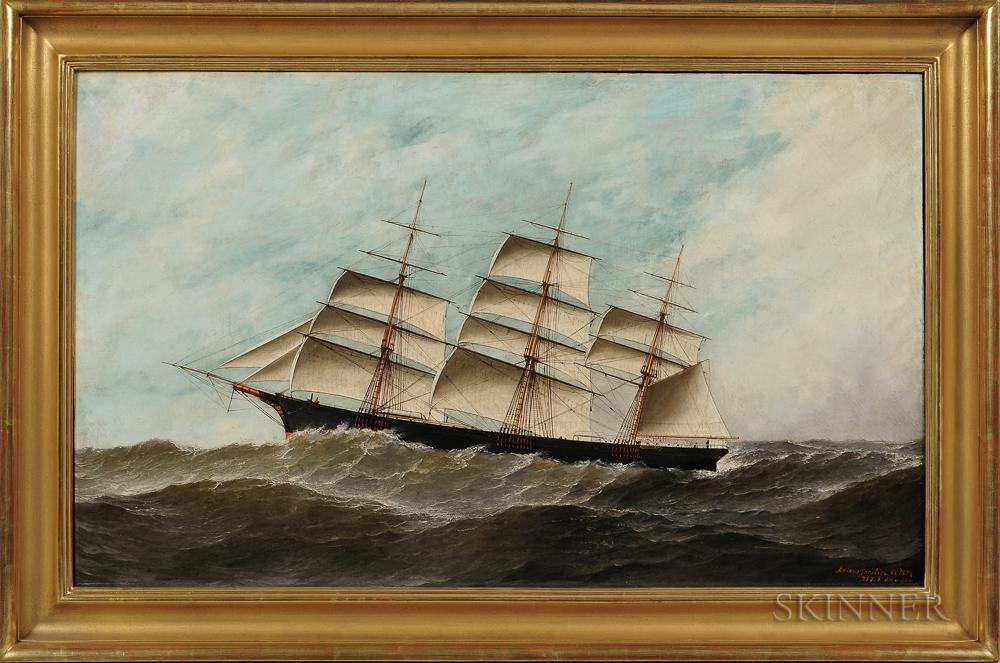 Antonio Nicolo Gasparo Jacobsen (New York/New Jersey, 1850-1921)      Portrait of the C.C. Chapman