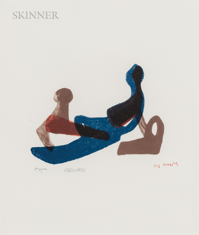 Henry Moore (British, 1898-1986)      Mother and Child