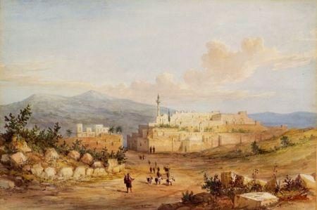 Attributed to Francis Arundale (British, 1807-1853)    Nazareth