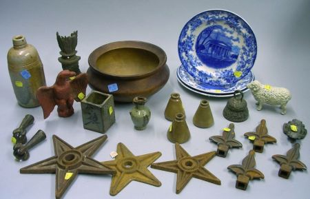 Group of Assorted Decorative and Collectible ArticlesGroup of Assorted...
