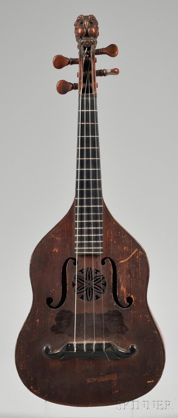 Brescian Mandolin, Giofreddo Rinaldi, Turin, c. 1890