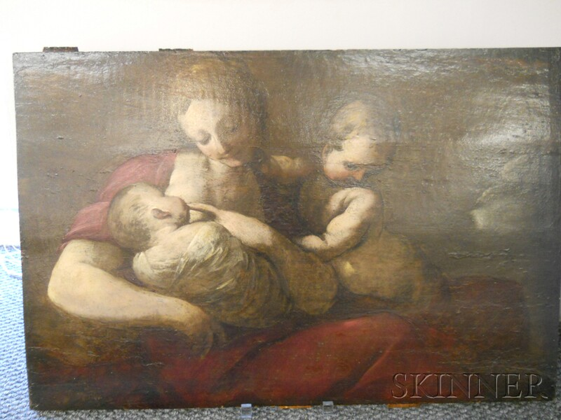Continental School, 18th/19th Century      Allegory of Charity