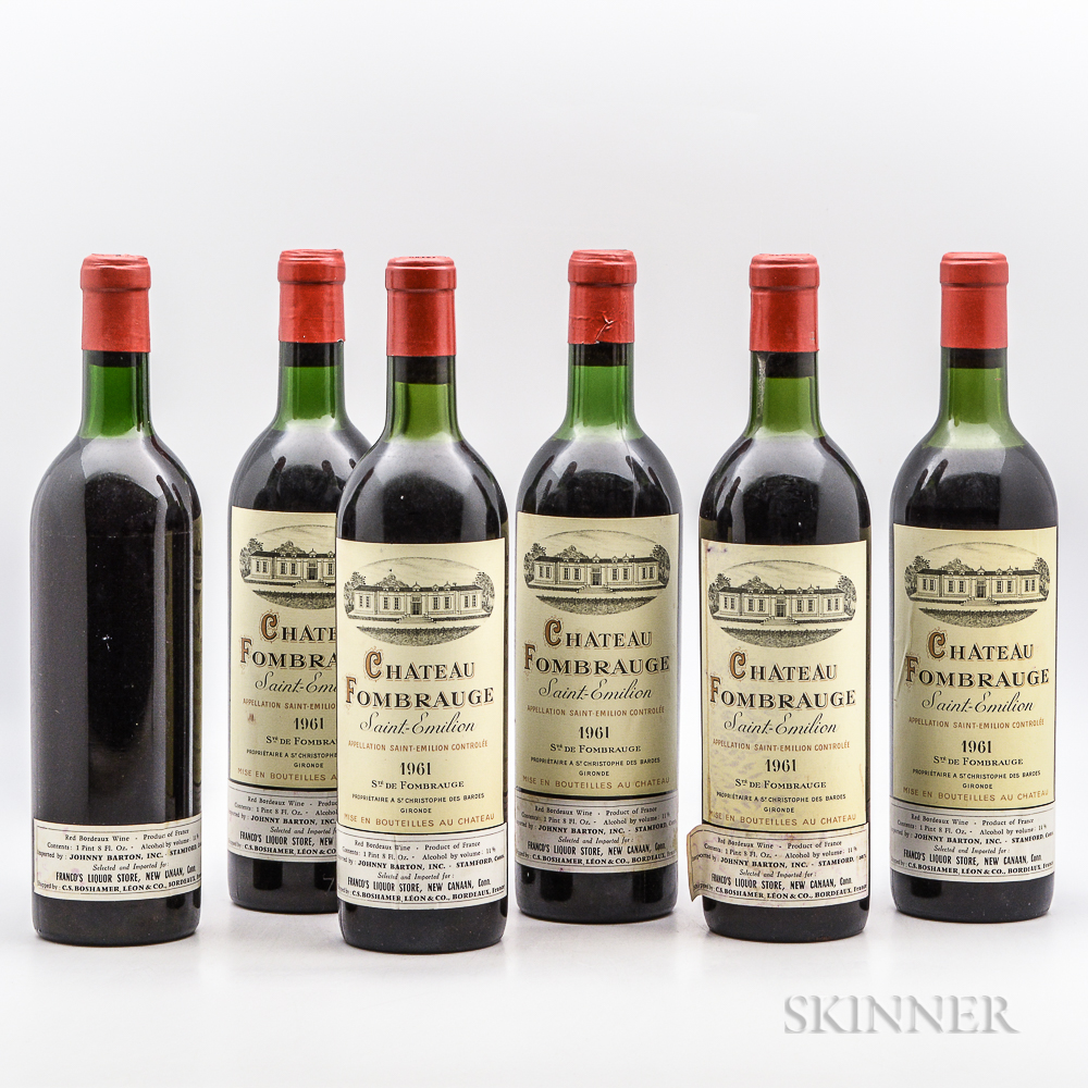 Chateau Fombrauge 1961, 6 bottles