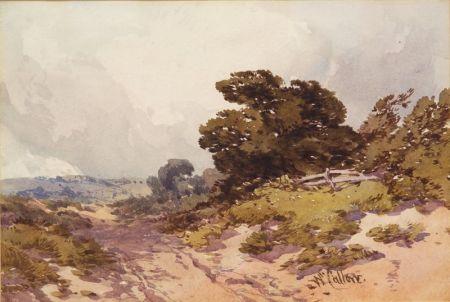 Attributed to William Callow (British, 1812-1908)    Landscape Scene