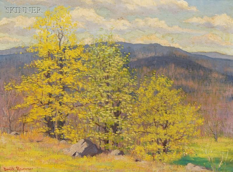 David O. Reasoner (American, 20th Century)      Spring