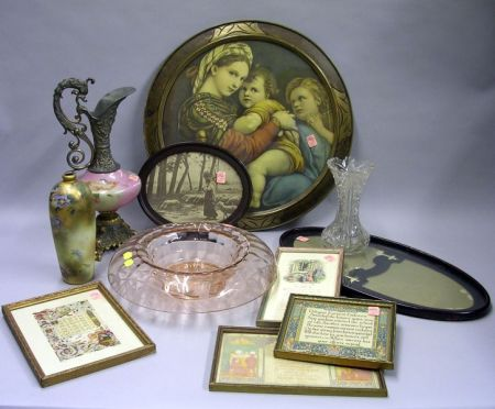 Eleven Assorted Decorative Items
