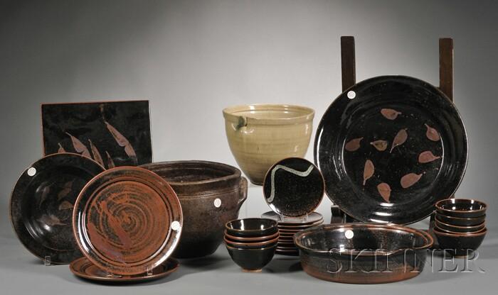 Twenty-seven Pieces of Functional Pottery