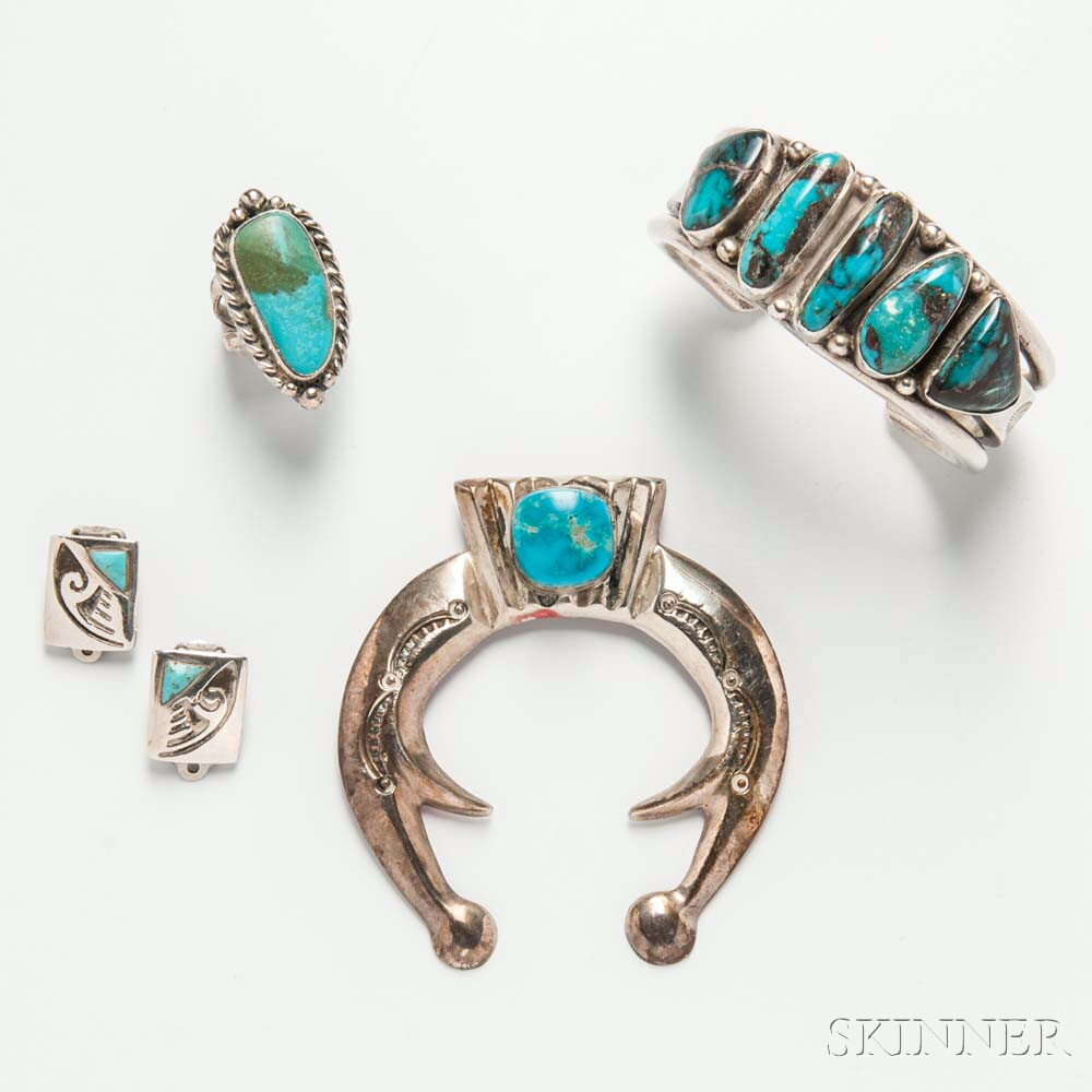 Group of Southwestern Jewelry