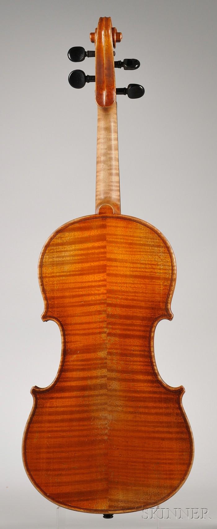 Markneukirchen Violin, 1923