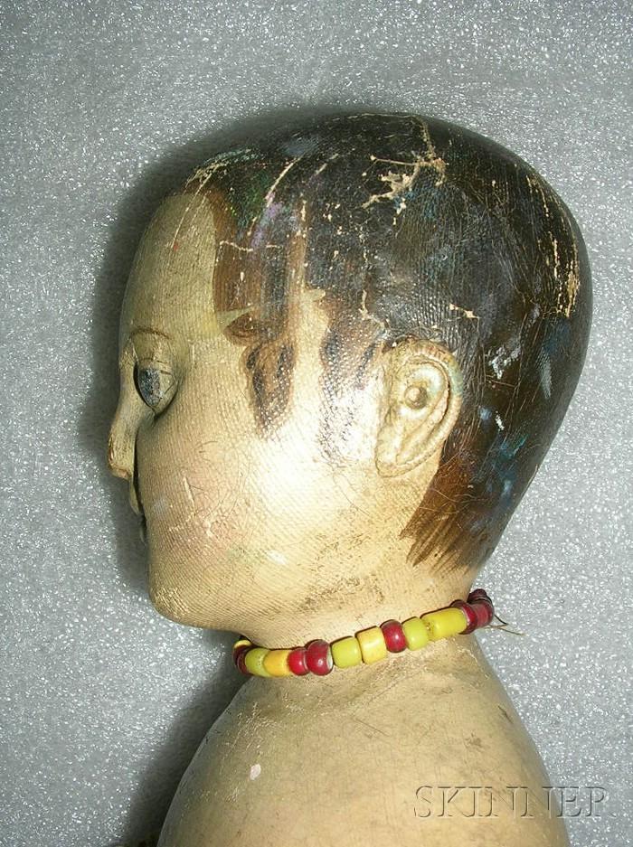 Oil-painted Cloth Izannah Walker Girl Doll