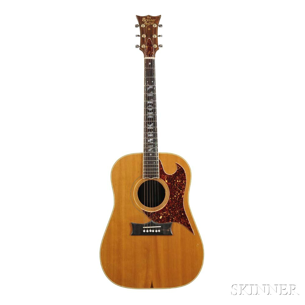 Mark Holly     Grammer Custom Acoustic Guitar, c. 1970