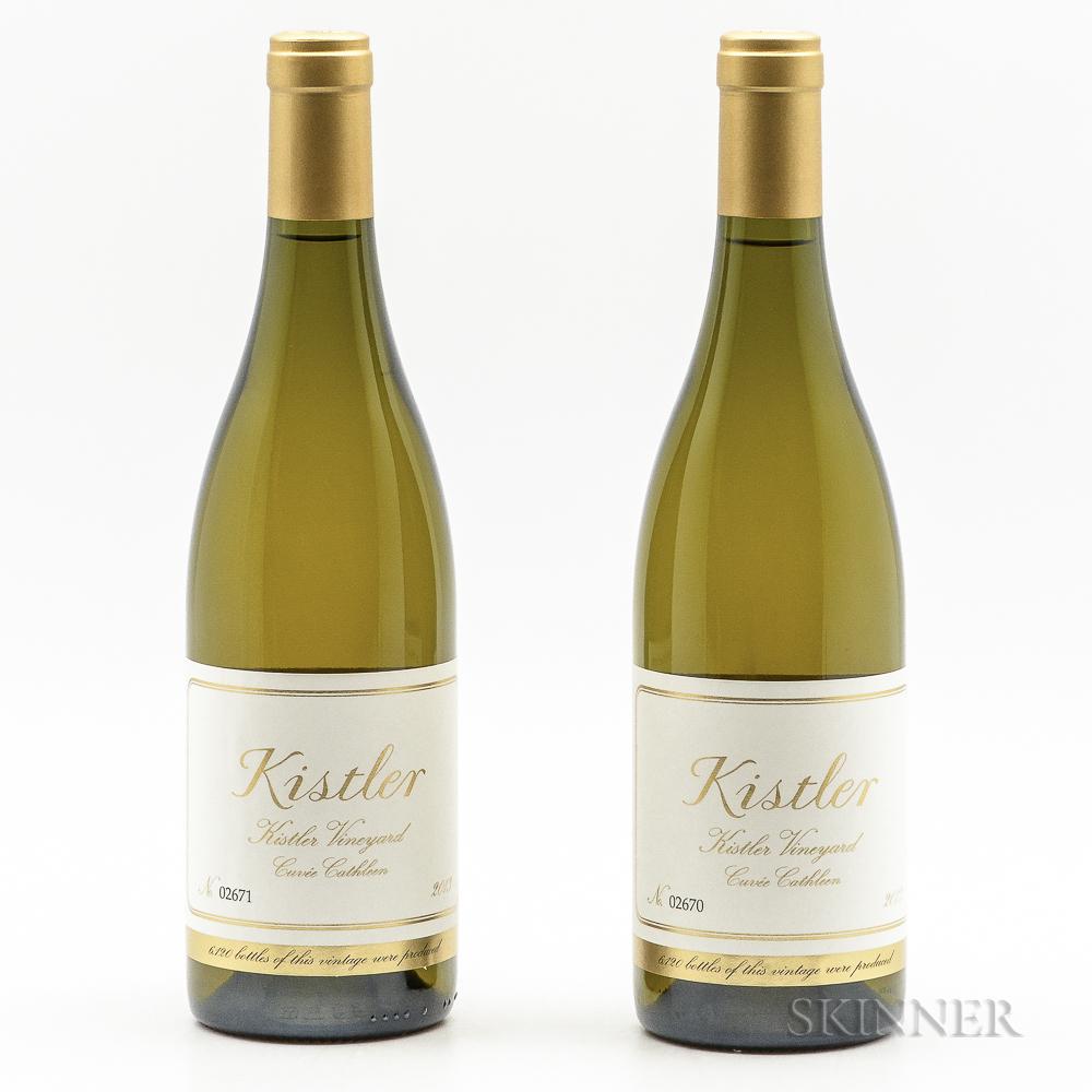 Kistler Kistler Vineyard Chardonnay Cuvee Cathleen 2013, 2 bottles