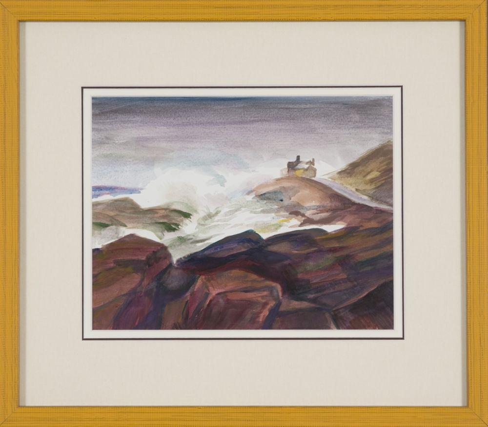 Sid Solomon (Massachusetts, b. 1933), Breaking Sea