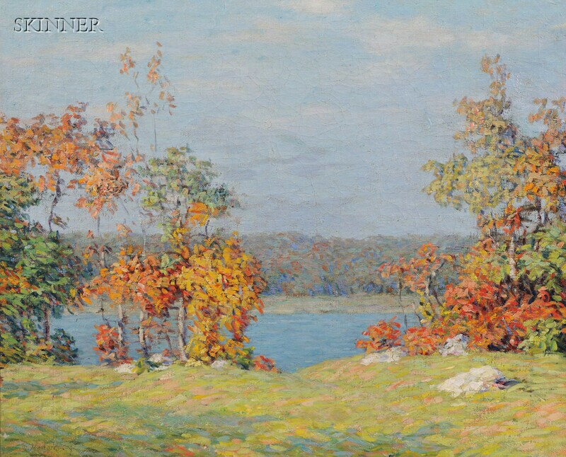 Marion P. Howard (American, 1883-1953)      Autumn Colors