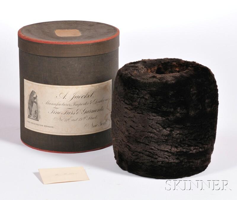 A. Jaeckel Fine Fur Muff in Original Box