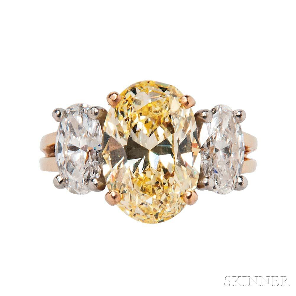 Colored Diamond Ring, Oscar Heyman