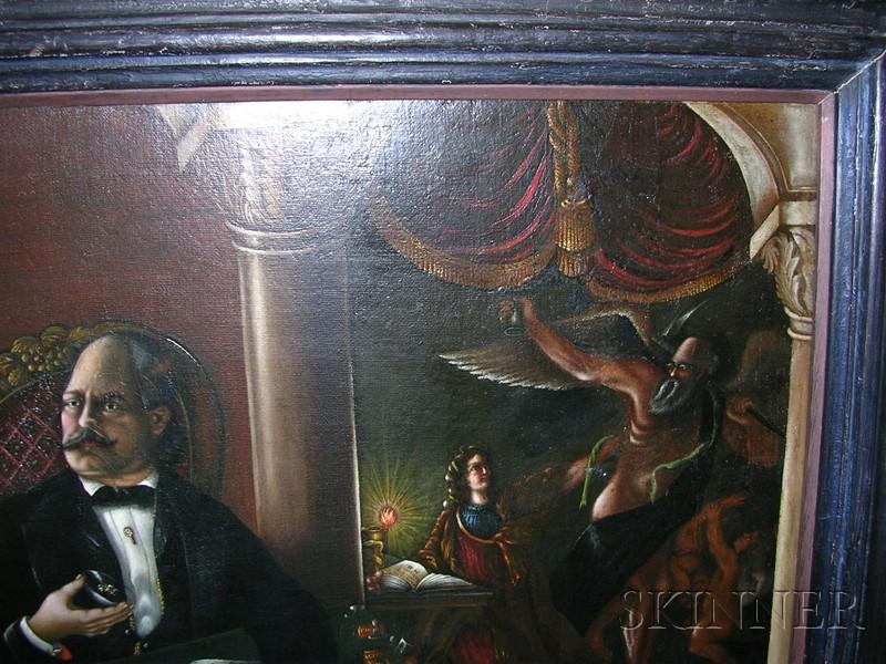 American School, 19th Century      Portrait of a Scholarly California Gentleman.