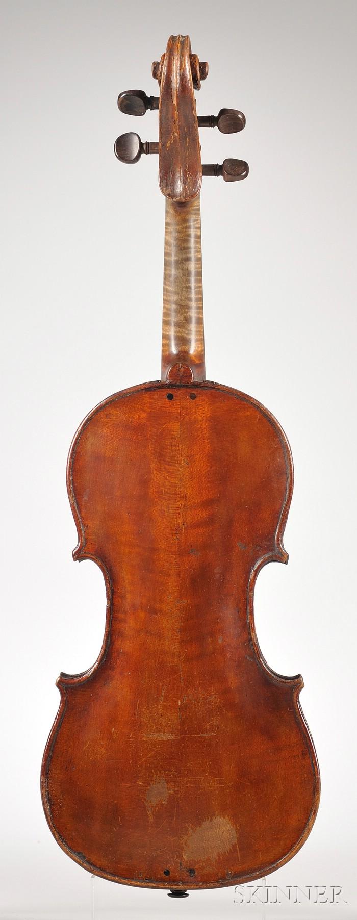 French Violin, Francois Gavinies, Paris, 1769
