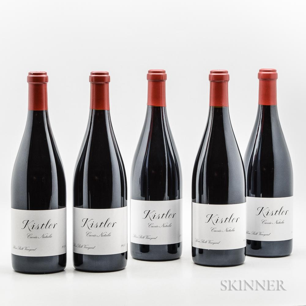Kistler Silver Belt Vineyard Pinot Noir Cuvee Natalie, 5 bottles