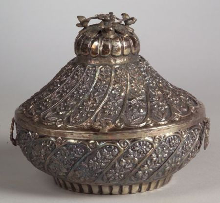 Ottoman-style Repousse Container