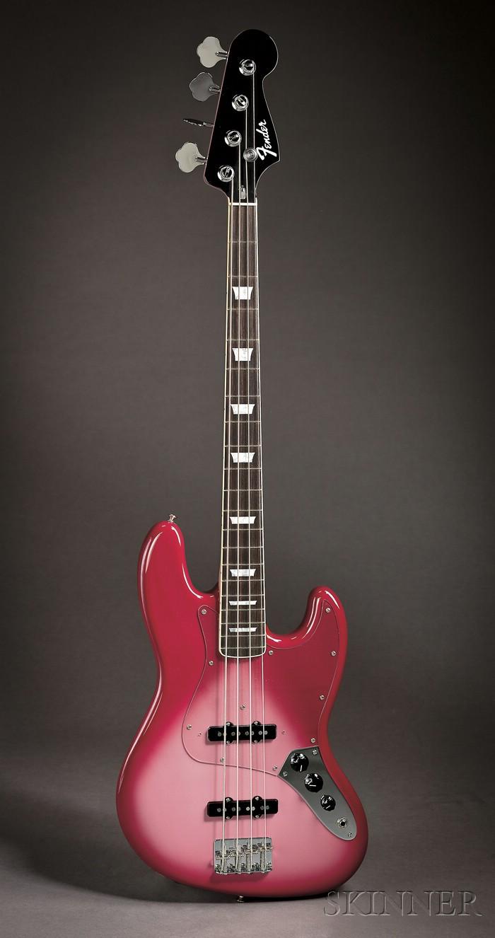 American Bass Guitar, Fender Custom Shop, Corona, 2010, Model Jazz Bass