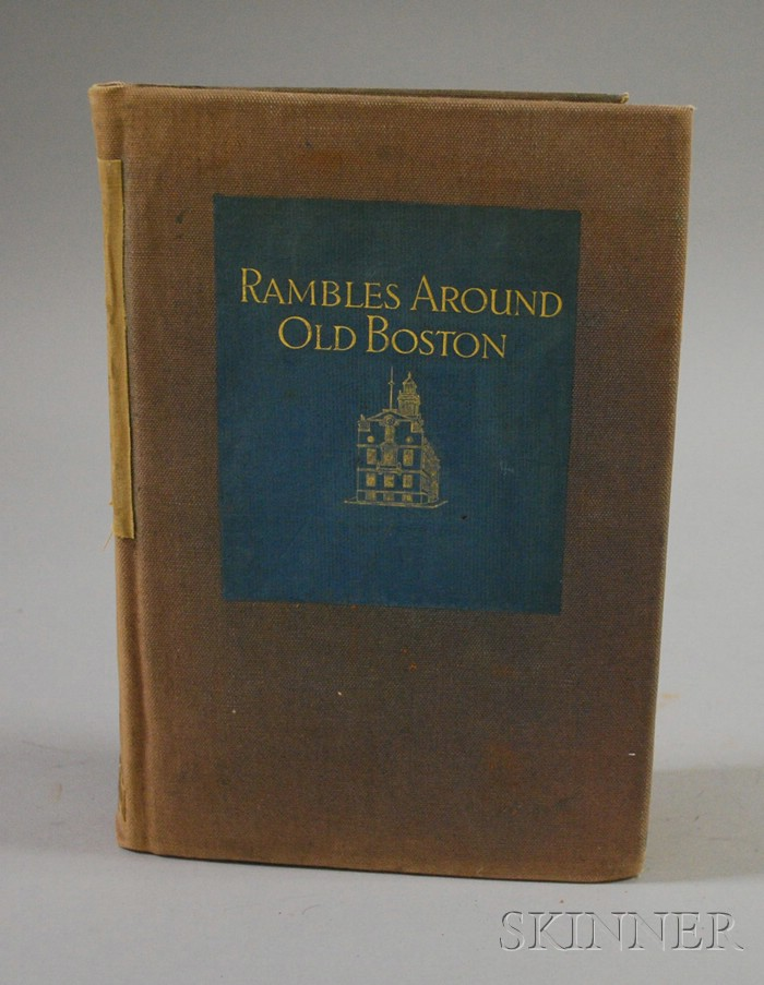 Edwin M. Bacon, Rambles Around Old Boston