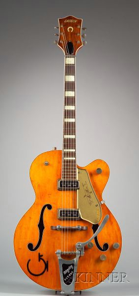 American Guitar, The Fred Gretsch Manufacturing Company, New York, 1956