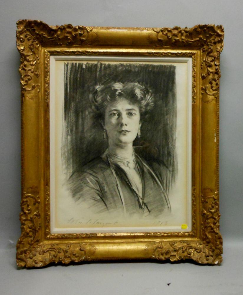 John Singer Sargent (American, 1856-1925)      Lady Poole (Michelle Peveril Le Mesurier)