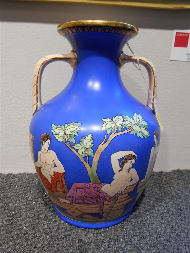 Copeland Porcelain Portland-type Vase