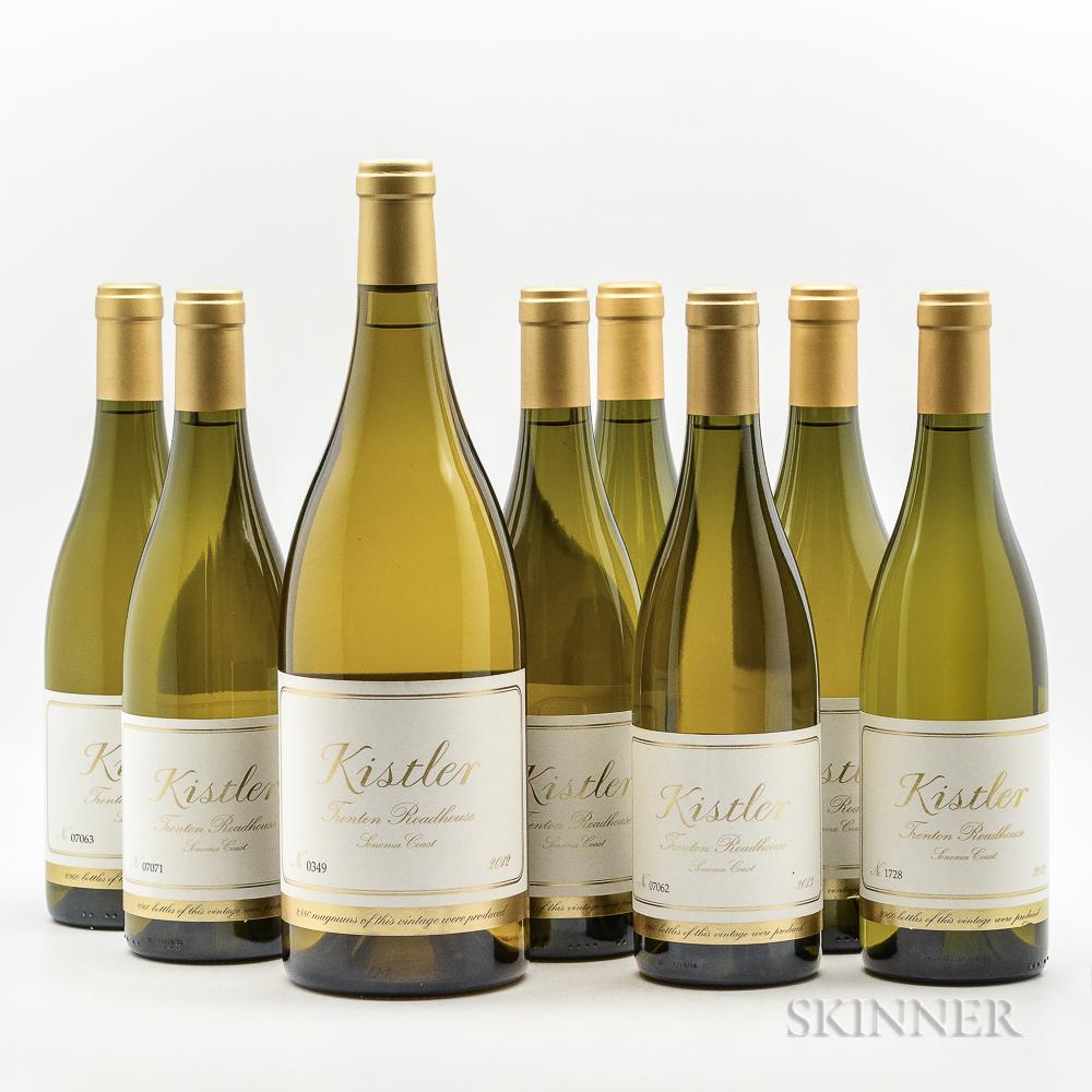 Kistler Trenton Roadhouse Chardonnay, 7 bottles 1 magnum
