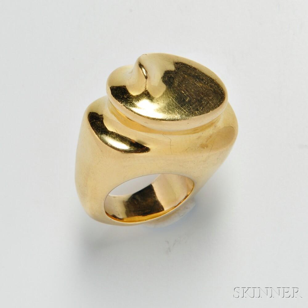18kt Gold Ring, Patricia Von Musulin