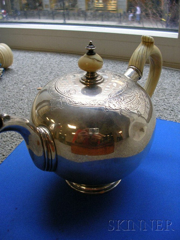 Dutch Silver Teapot