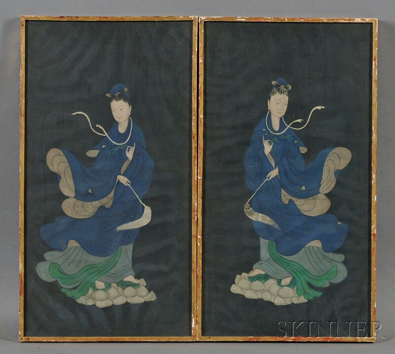 Pair of Framed Paintings