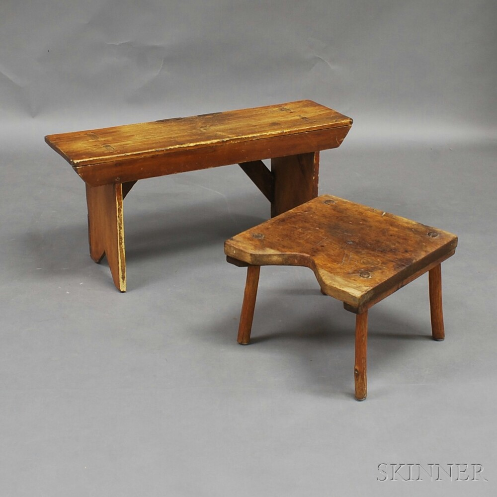 Stool and a Bench