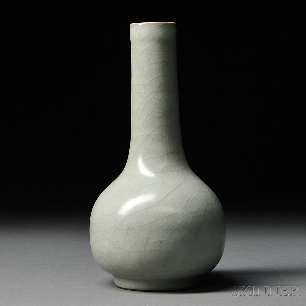 Longquan Celadon Bottle