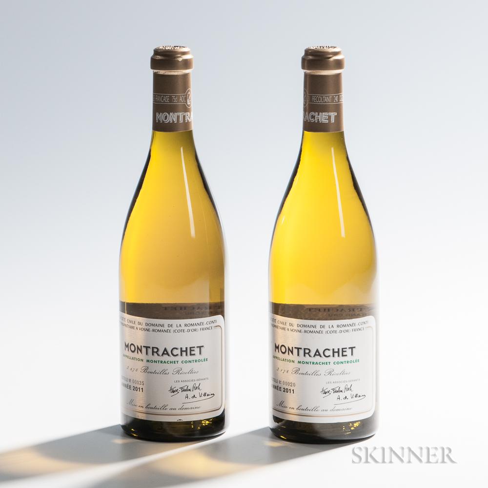 Domaine de la Romanee Conti Montrachet 2011, 2 bottles