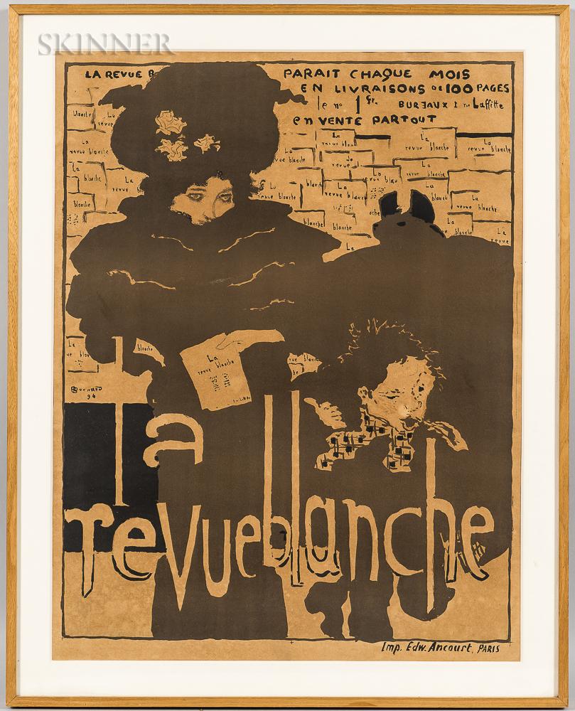 Pierre Bonnard (French, 1867-1947)      La Revue Blanche