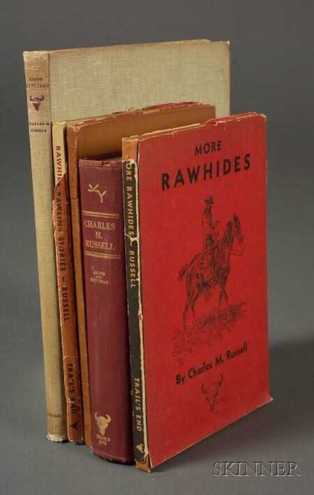 Five Charles M. Russell Books