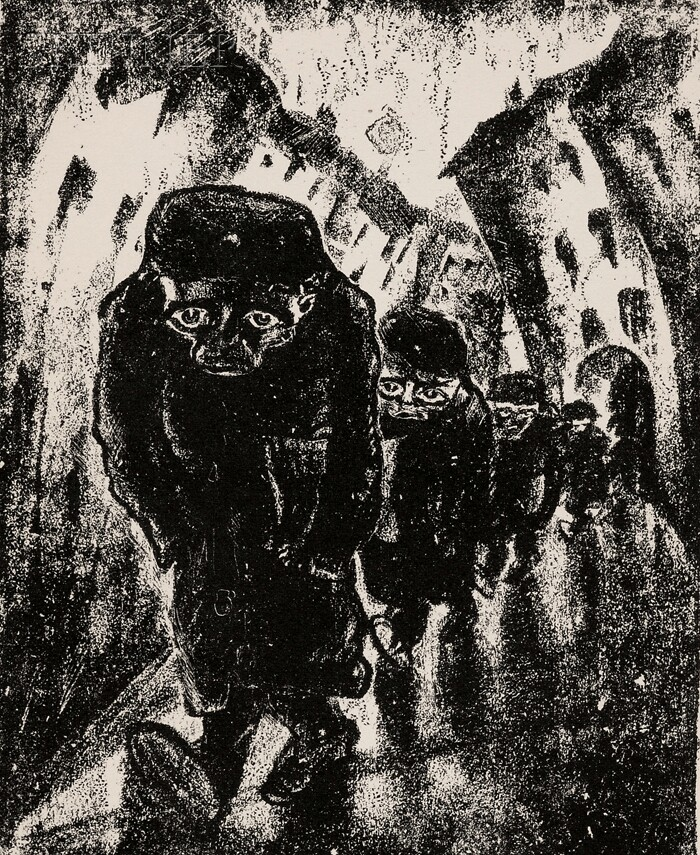 Walter Gramatté (German, 1897-1929)      Lot of Twelve Figural Studies