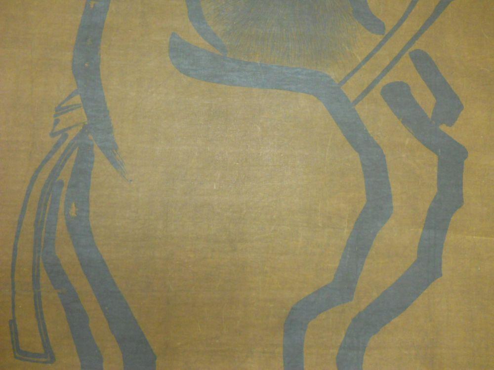 Two Buddhist Hanging Scrolls
