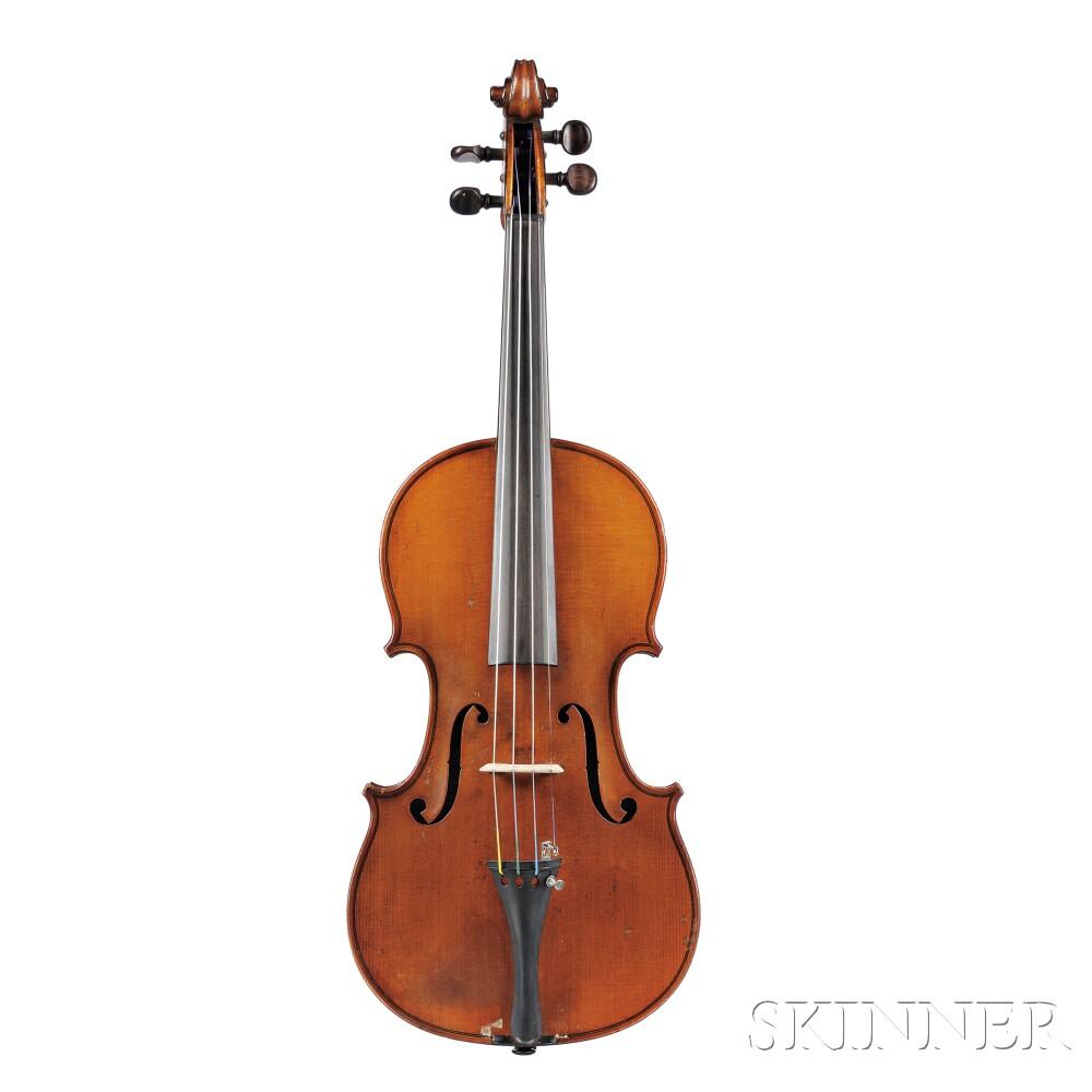 French Violin, Ch. J.B. Collin-Mezin, Paris, 1899