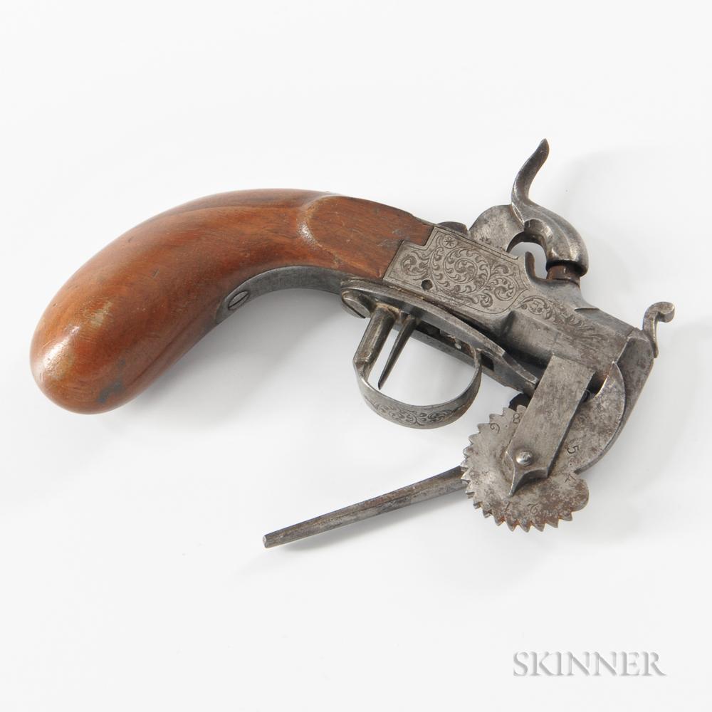 Flintlock Eprouvette Powder Tester