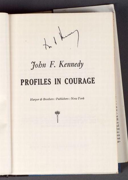 Kennedy, John F. (1917-1963), Signed Copy