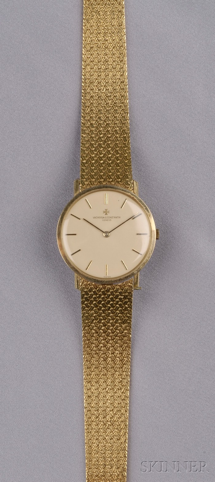 18kt Gold Wristwatch, Vacheron & Constantin