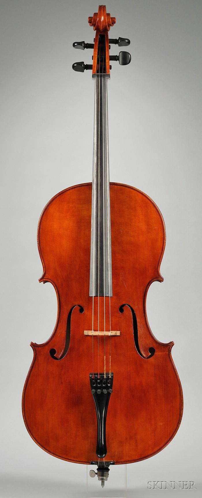 Modern Italian Violoncello, Natale Carletti, Pieve di Cento, 1951