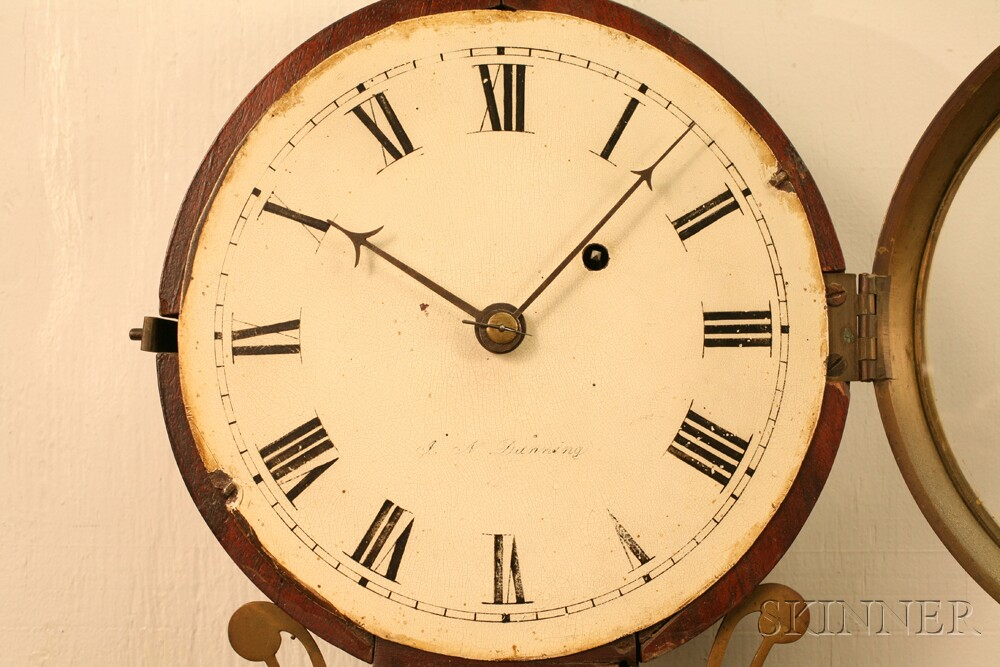 J. N. Dunning Patent Timepiece or